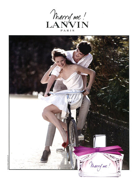LANVIN Marry Me! 2010 France MODEL: Héloïse Guérin (France)