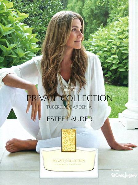 ESTÉE LAUDER Private Collection Tuberose Gardenia 2013 Spain  'Aerin Lauder presenta... - Solo en El Corte Inglés'