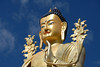 75' Maitreya (Buddha of the future) Buddha statue at Likir Monastery in Ladakh, India.