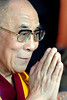 His Holiness the Dalai Lama.  I was invited to sit on stage with him as he spoke to 10,000 faithful Ladakhis and Tibetans.