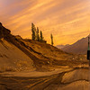 Sunrise at Kargil, India