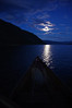 "a magical paddle around ""my"" little island,  in the moonlight"