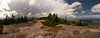 180 degree Gorham Mountain Summit Panorama