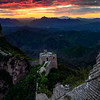 "The Great Wall of China - Simitai section near tang jia zhai - this means Tang family village, Tang is a Chines first name.  The famous high castle on the wall here is called ""Wang Jing Lou""  It means you can see Beijing on the tower.<br /> Guide: Mr Shi"