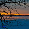 Gorgeous sunrise over a frozen Lake Mendota from Governor Nelson State Park (USA WI Waunakee; Obst FAV Photos 2013 Nikon D800 Landscapes Inspirational Sea and Lake Shores Image 7472)
