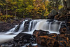 Brook's Falls on the Magnetawan River in the Almaguin Highlands, Ontario
