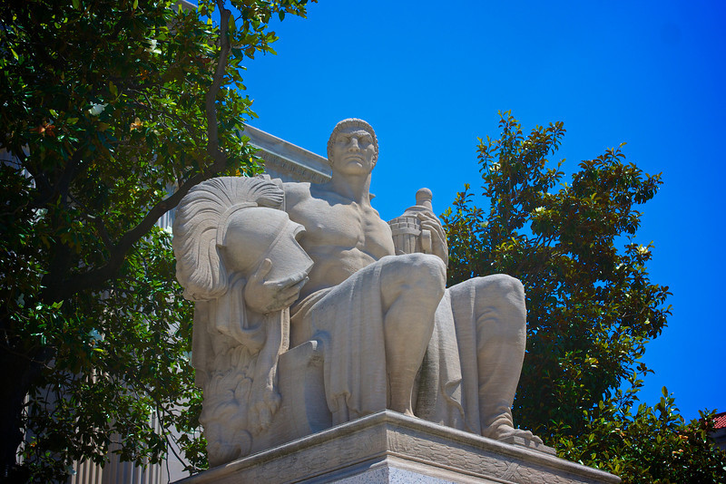 Statue of Guardianship at National Archives