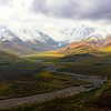 Incredible light on Alaska Range - Denali National Park