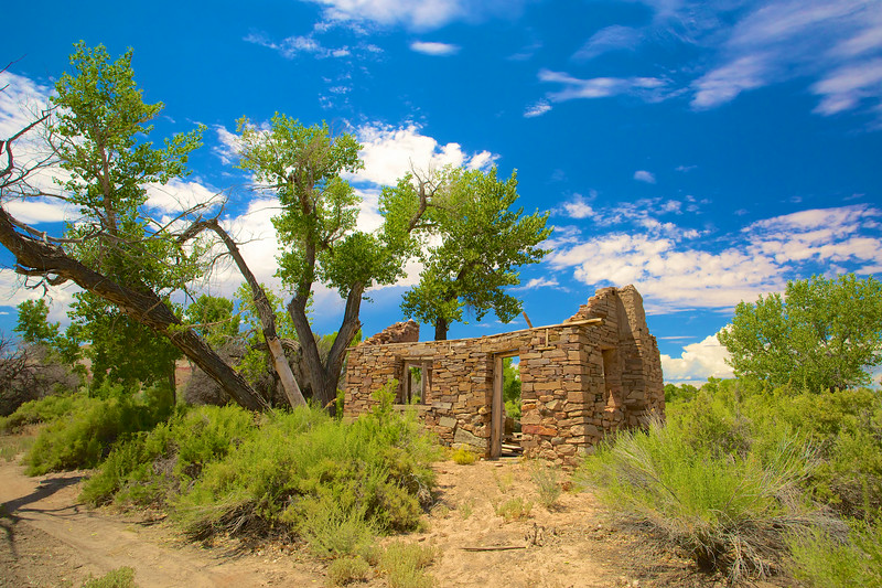 Old Stone House in Wilderness