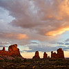 Arches Skyscape