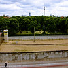 Stretch of the Berlin Wall and Watchtower