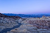 Dawn at Zabriskie Point - Just before the sunrise