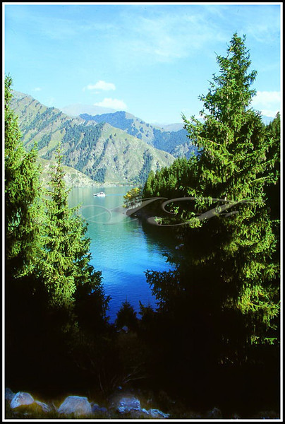 Another View of Tian Chi Lake.