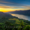3-shot HDR sunrise from Cape Horn