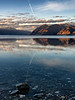 Reflections on Lake Hawea, South Island, New Zealand