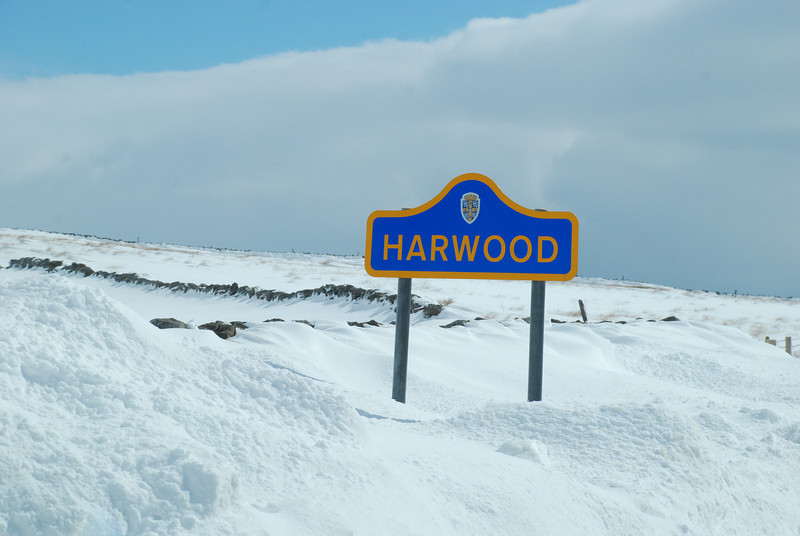 Harwood in the Pennines.