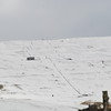 Weardale ski slopes. April 2013.
