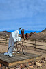 Szukashi Sculpture and bicycle, Rhyolite Ghost Town, Rhyolite, Nevada