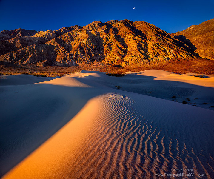 Remote Death Valley Dunes and Peaks