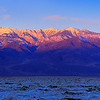 Death Valley Salt Pan Telescope Peak Moonset Panorama