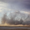 Larger then Life - Giant Sand Storm on the Salt Flats.<br /> <br /> The first small layer is about 100 feet high.