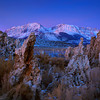 Dawn Twilight Mono Lake Eastern Sierra 01-29-2012