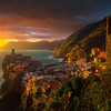 A Sunset To Remember - Cinque Terre, Italian Rivera, Italy
