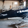 Being refurbished at the WWII Flight Training Museum  in Douglas, GA