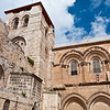 Jerusalem . The Church of the Holy Sepulchre in Old City.