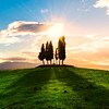 Light And Shadows Of Tuscany - Val d'Orcia Region, Tuscany, Italy