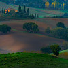 On Top Of The Knoll - Val d'Orcia Region, Tuscany, Italy