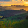 The Ups And Downs Of Italy - Val d'Orcia Region, Tuscany, Italy