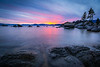 Sand Harbor Afterglow