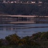 Interstate 5 passing over Bataquitos Lagoon at Carlsbad's southern border with Aviara in the background. 2/17/2015