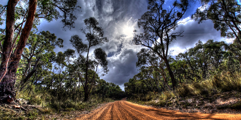 Australia Gravel Road Grampains National Park
