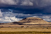 Northern California Landscape: view from Petroglyph Point, near Lava Beds National Monument, Tulelake, CA.