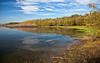 Autumn Wetlands Landscape.