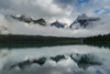 Low Lying Cloud Reflection<br /> Emerald Lake, Yoho National Park<br /> British Columbia, Canada<br /> © 2014
