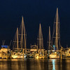 Masts At Night