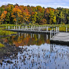 Horicon Boardwalk In Fall