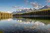 On A Clear Day<br /> Herbert Lake, Banff National Park<br /> Alberta, Canada<br /> © 2014