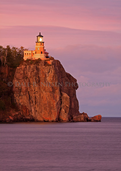 Split Rock Lighthouse at sunset, Two Harbors, Minnesota