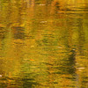 Fall color reflections in the Huron River near South Rockwood, Michigan