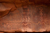 Anaszai Rock Art in Petroglyph Canyon, Zion National Park