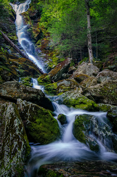 Race Brook Falls - Upper Falls