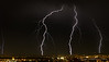 Lightning Storm over Albuquerque 6