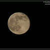 Super Moon, Scripps Ranch, San Diego County, California, July 2014