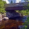 Bridge over Lazy Tom Stream near Kokadjo, Maine.