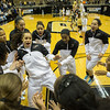 during the Purdue vs. Central Michigan college basketball game at Mackey Arena on December 282, 2013 in West Lafayette, IN