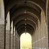 arched walkway of Texas Tech